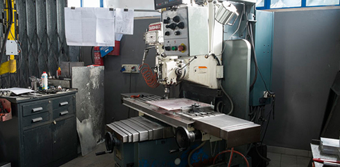 Conventional Milling of bed type BARON-MAX