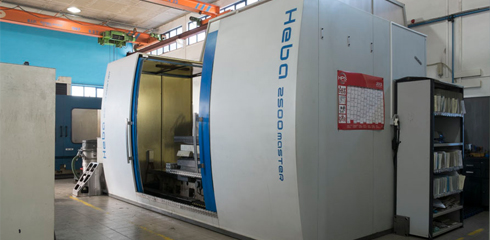 Deep hole drilling with milling HEBA 2500 MASTER