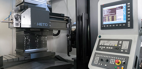 Deep hole drilling with milling cHETO MT1500